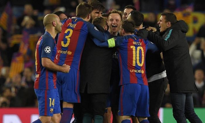 Barcelona bucurie PSG