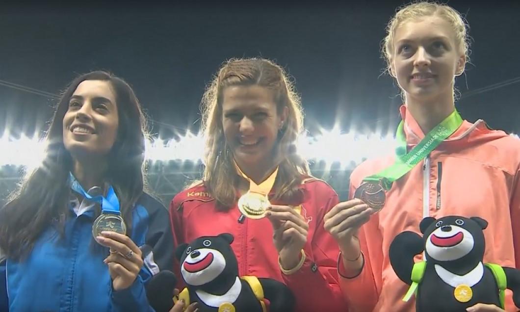 medalie rotaru podium
