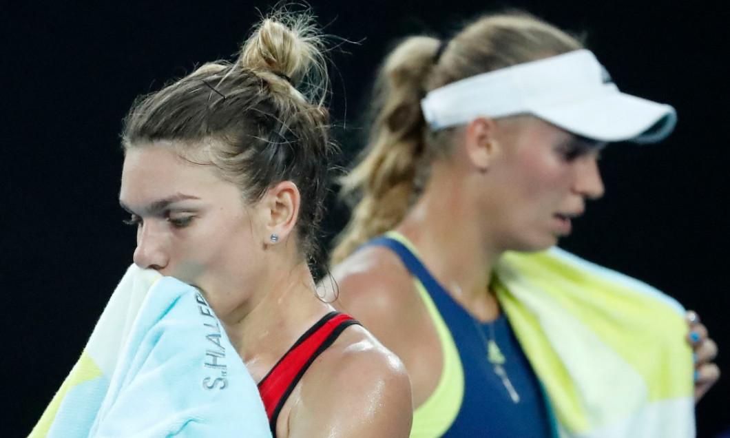 Halep Wozniacki