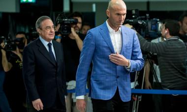 Zinedine Zidane și Florentino Perez
