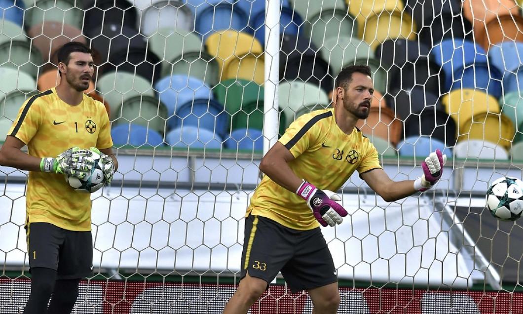FOTBAL:ANTRENAMENT OFICIAL FC STEAUA BUCURESTI LA LISABONA, PLAY OFF LIGA CAMPIONILOR (14.08.2017)