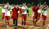 FOTBAL:DINAMO BUCURESTI-FARUL CONSTANTA 2-0 LIGA 1 (13.03.2005)