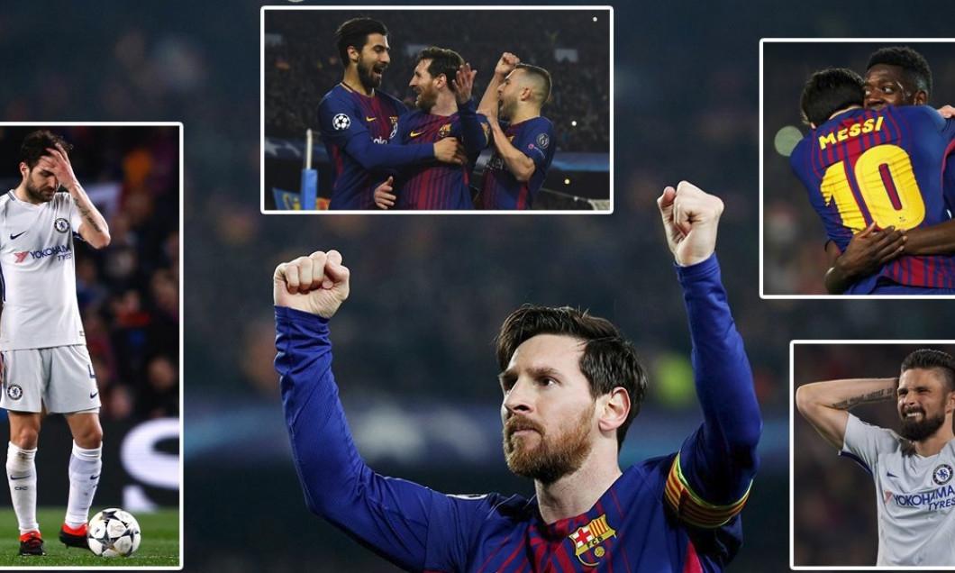 Barcelona Chelsea colaj