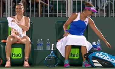 halep begu miami WTA dublu