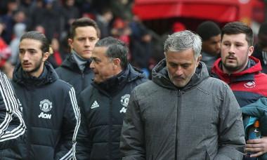 Felix alături de tatăl său, Jose Mourinho