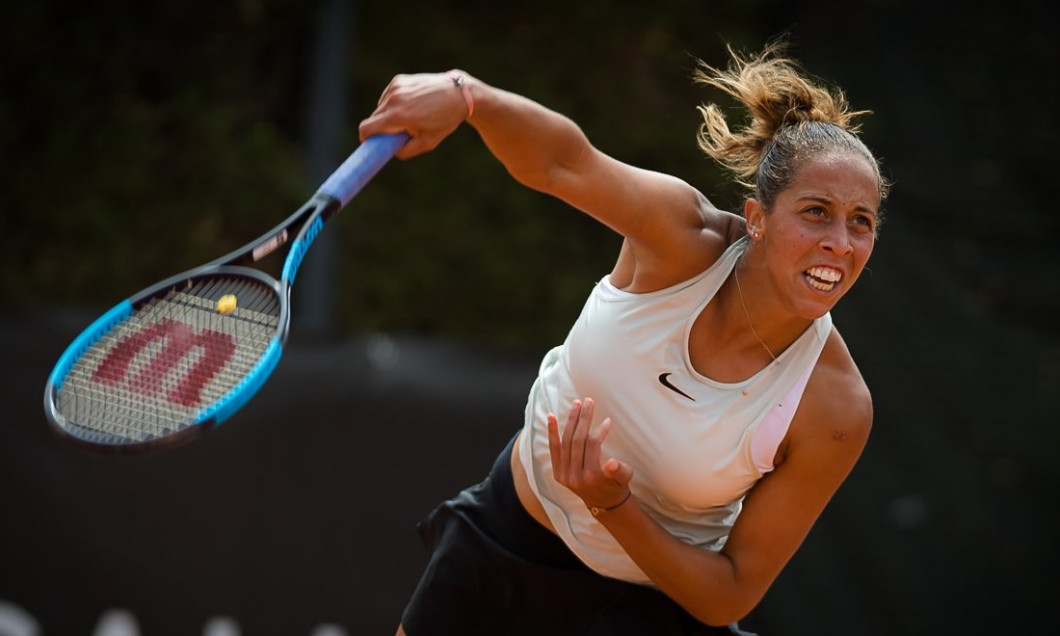 Madison Keys abandon