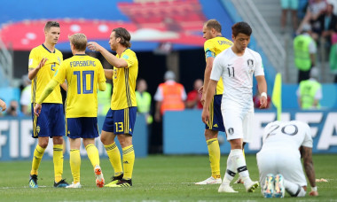 Sweden v Korea Republic: Group F - 2018 FIFA World Cup Russia