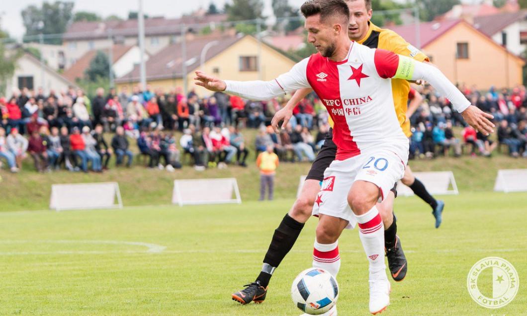 Baluta debut Slavia