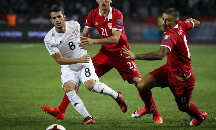 Serbia v Georgia - FIFA 2018 World Cup Qualifier