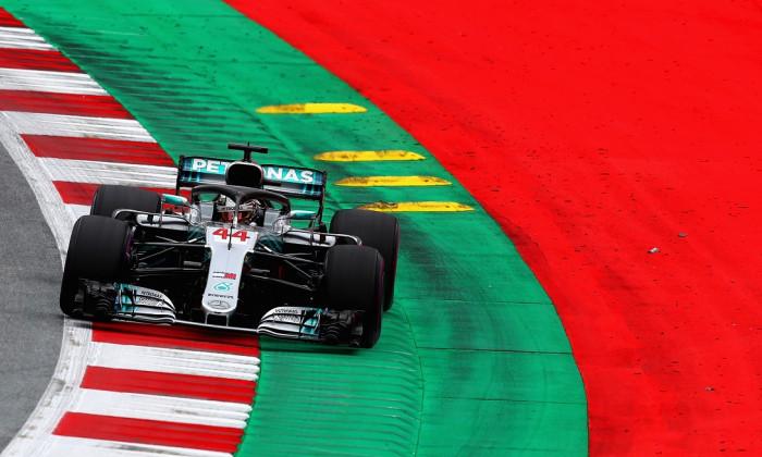 Lewis Hamilton F1 MP Austria