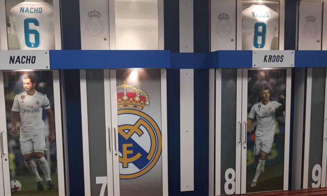 Real Madrid vestiar As