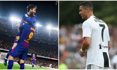 Messi Cristiano Ronaldo La Liga Serie A Digi Sport
