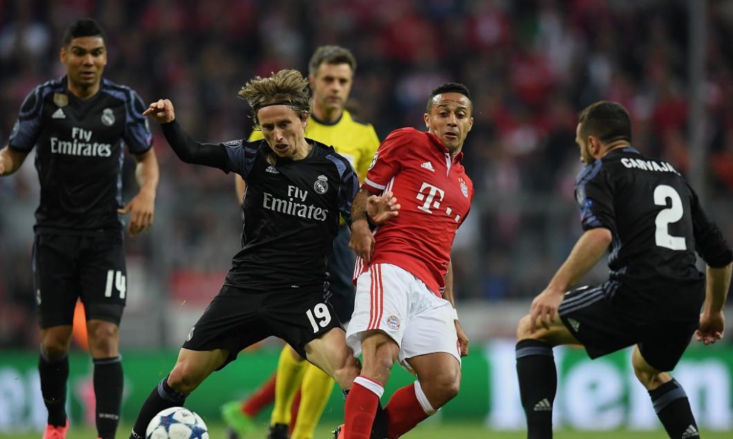 Thiago Alcantara Real Madrid transfer Bayern Modric