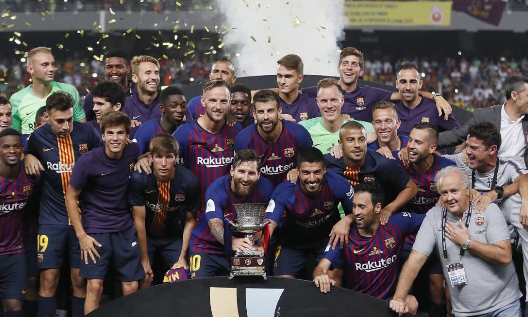 Barcelona supercupa 2018