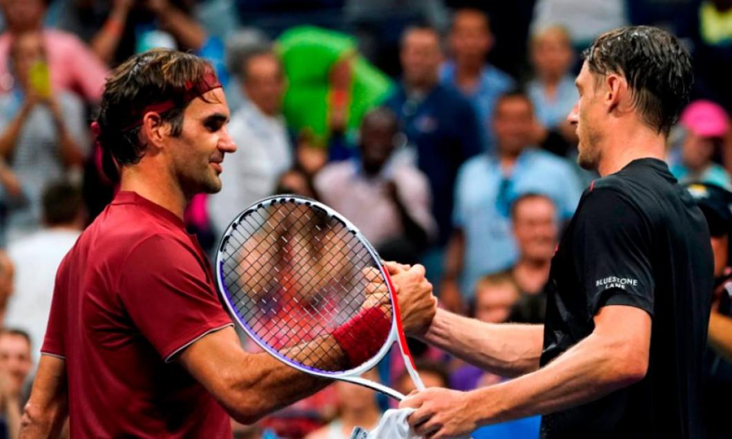 Federer Millman US Open 2018