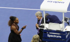 Serena Williams finala US Open Carlos Ramos