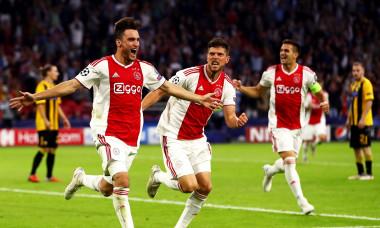 Nicolas Tagliafico Ajax UEFA Champions League
