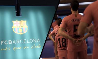Barcelona al treilea echipament 2018-2019