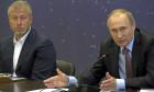 Vladimir Putin şi Roman Abramovich / Getty Images