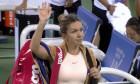 Simona Halep eliminare Wuhan 2018