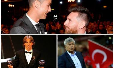 Messi Ronaldo Lucescu Gala FIFA