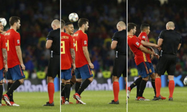 Busquets arbitru Spania
