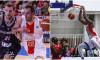 CSM CSU Oradea - Wurzburg 69-82 și Steaua - Bakken Bears  66-100