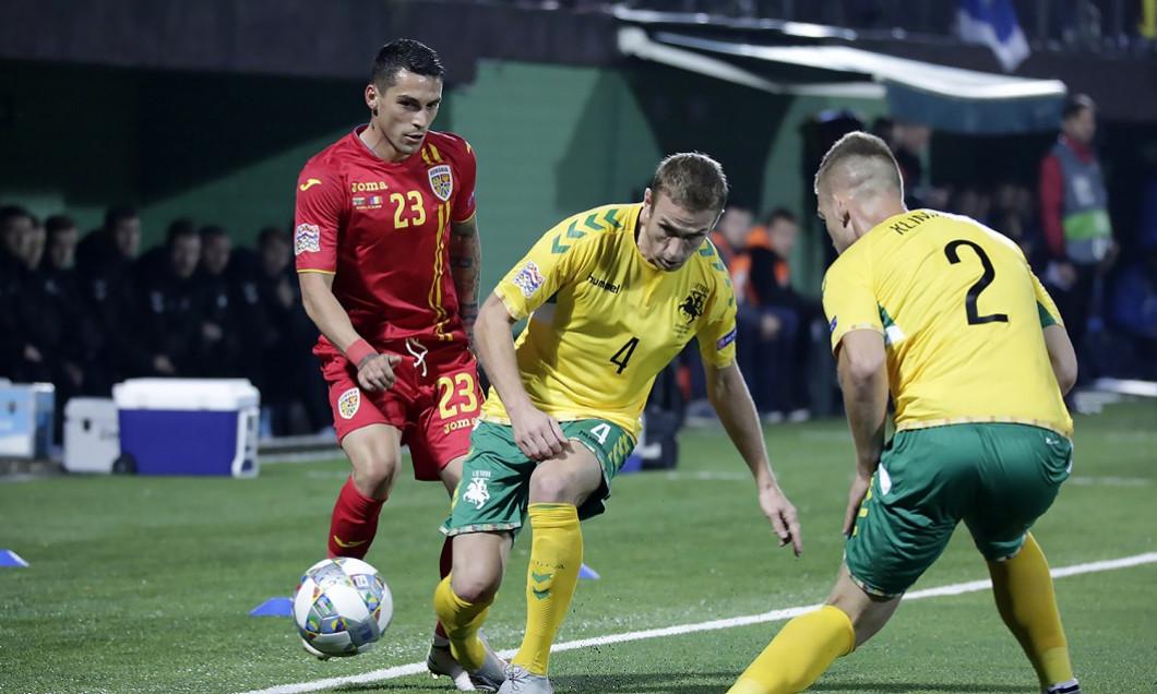 Stanciu Lituania - Romania 1-2 UEFA Nations League