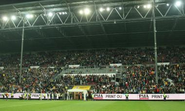 Naționala de tineret a României se bucură de o mare simpatie din partea fanilor
