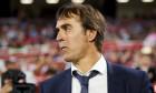 Lopetegui antrenează Real Madrid din luna iulie, când a părăsit naționala Spaniei chiar în timpul Cupei Mondiale din Rusia.