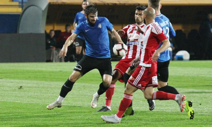 Viitorul a pierdut meciu cu Sepsi, 2-3. Ianis Hagi a fost suspendat, la fel ca și tatăl său, Gheorghe Hagi