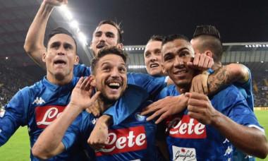 Napoli victorie la Udinese
