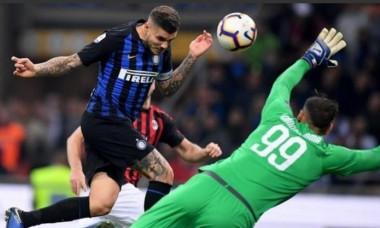 Mauro Icardi gol VIDEO Internazionale Milano - AC Milan 1-0