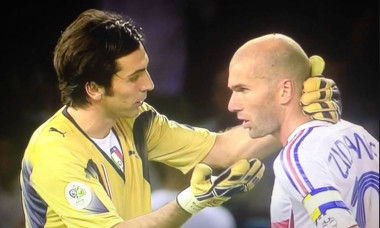 Buffon si Zidane in 2006