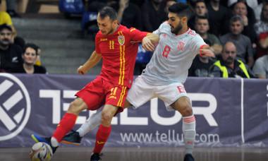 Romania futsal amical cu Spania