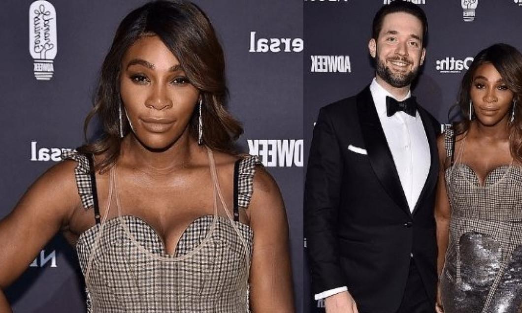 Serena Williams Alexis Ohanian Brand Genius Awards - Copy
