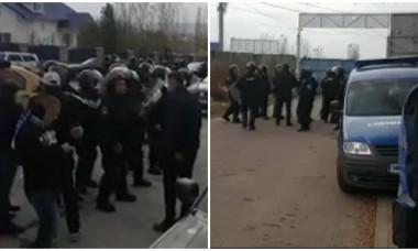 Incidente Craiova bataie fani - jandarmi
