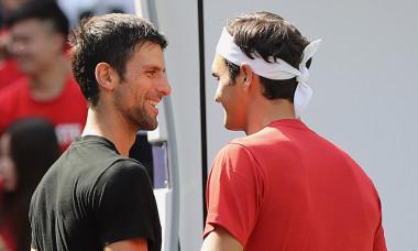 Novak Djokovic Roger Federer Paris