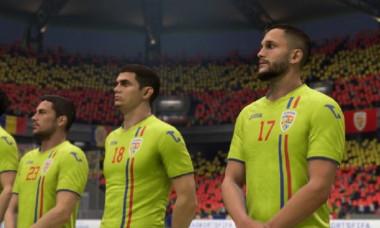 Nationala de FIFA a Romaniei in parteneriat cu FRF