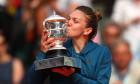 Simona Halep trofeu Grand Slam