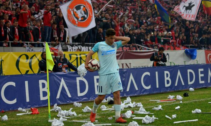 Olimpiu Morutan a gresit la golul primit de FCSB de la DInamo