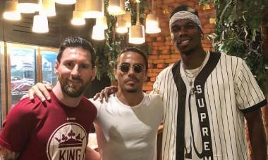 Lionel Messi Paul Pogba Salt Bae re