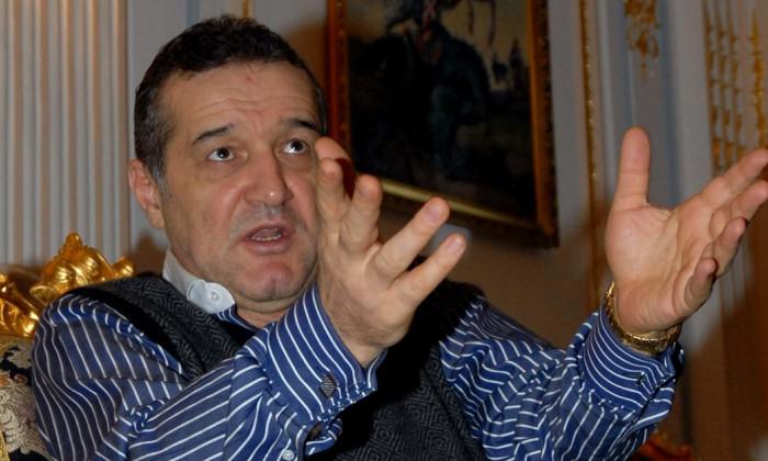 Gigi Becali si povestea transferului picat la 100 noaptea