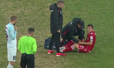 Dan Nistor, accidentare Dinamo