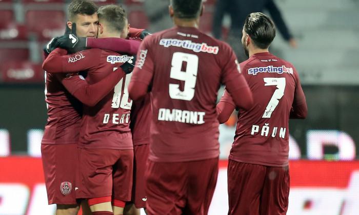 FOTBAL: CFR CLUJ - FC VOLUNTARI, LIGA 1 BETANO (30.11.2018)