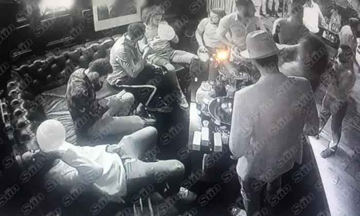 Arsenal jucatori petrecere droguri