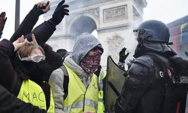 protest franta