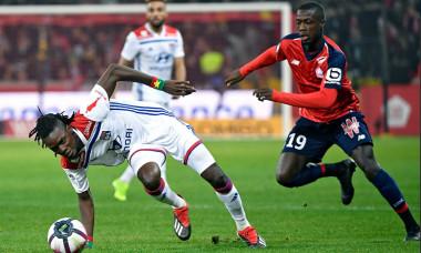Lille Lyon 2-2