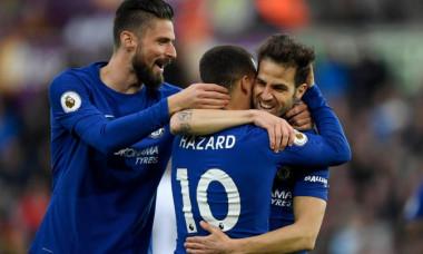 Hazard Fabregas Chelsea