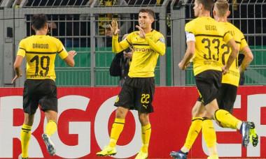 Pulisic gol Dortmund
